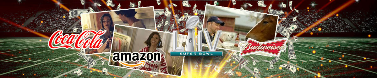 Commercial Previews for Super Bowl LIV