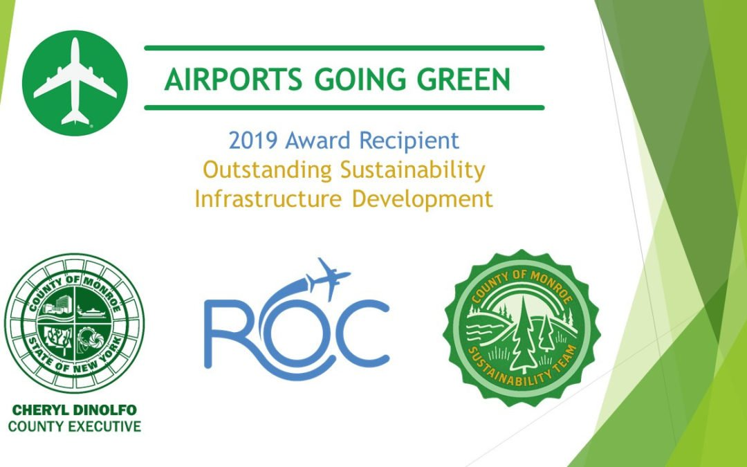 Clients in the News: ROC Airport