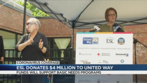 united way gets 4m grant from esl syndimport 051821 1 300x169 - Clients in the News: ESL Gives $4M Grant to The United Way